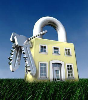 Haus als Sicherheitshochburg