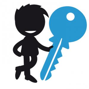 Schlüsseltyp Karikatur