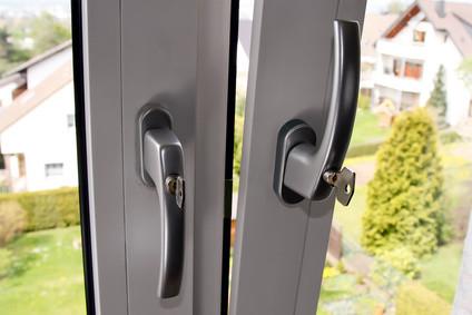 Fenstergriff mit Schlüssel abschließbar